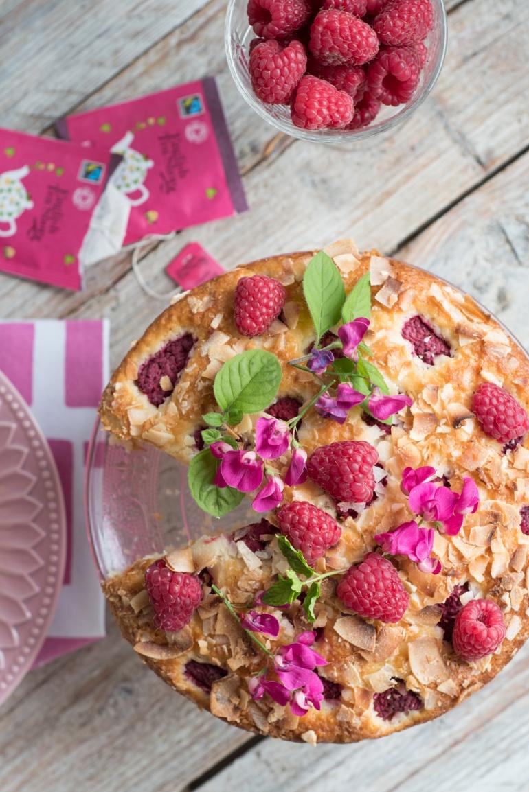 ciasto kokosowe z malinami bez tłuszczu kuchnia agaty (3)