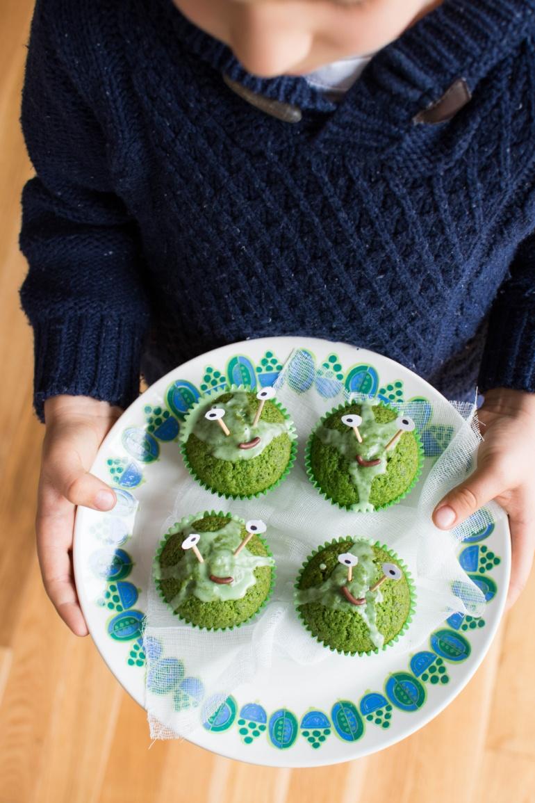 zielone babeczki szpinakowe na halloween kuchnia agaty (2)