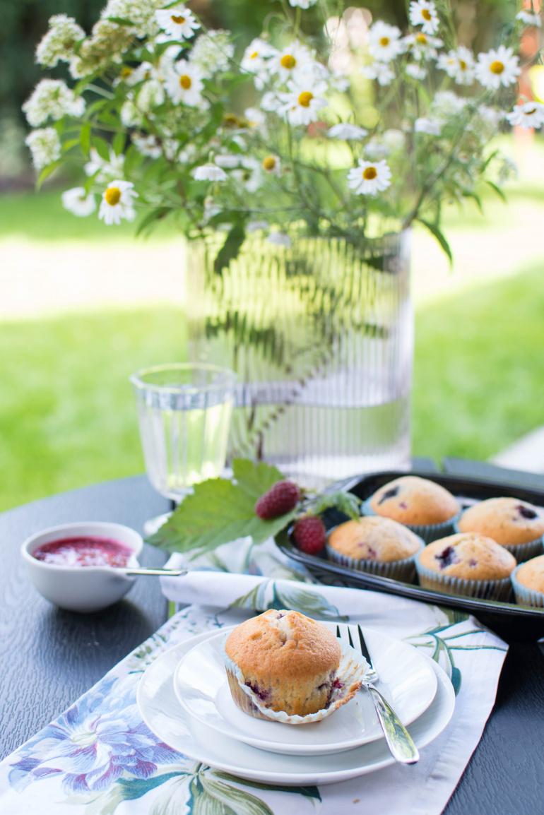 babeczki z wiśniami