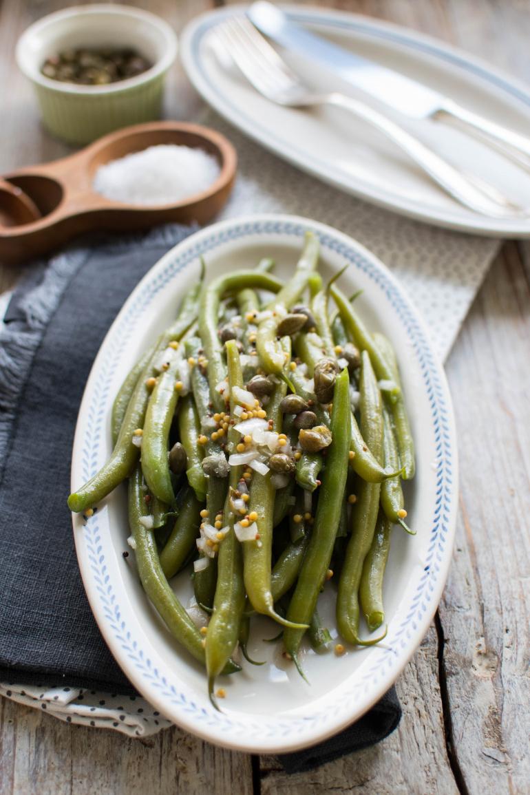 fasolka szparagowa- sałatka