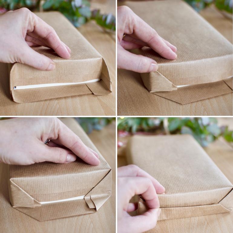 jak zapakować prezent- książkę