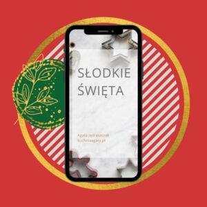 Okładka eBooka słodkie święta
