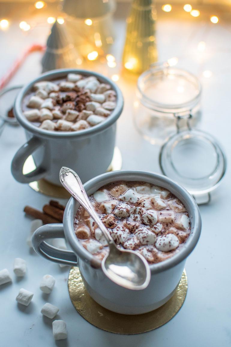 świąteczna czekolada na gorąco