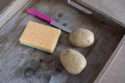 pieczątki z ziemniaków