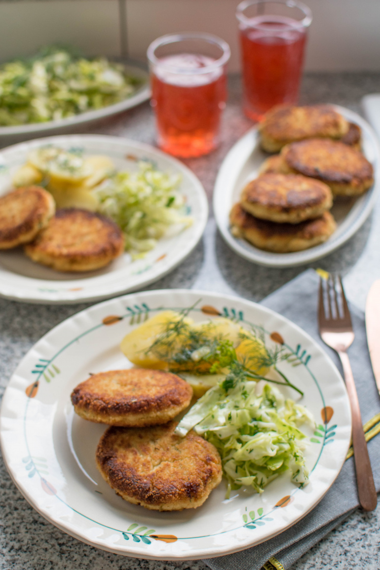 wegetariańskie kotlety z kalafiora