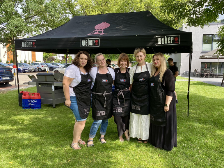 Event Grille Weber Crushing Stereotypes