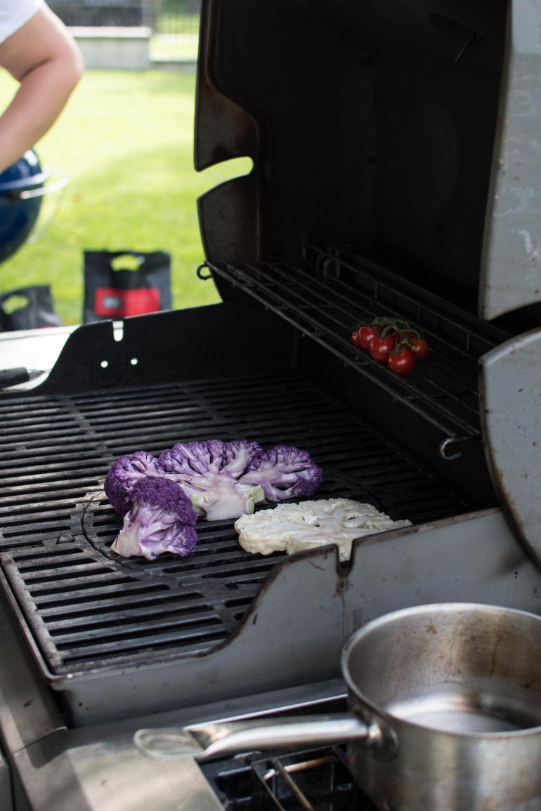 Warzywa grillowane na grillu Weber