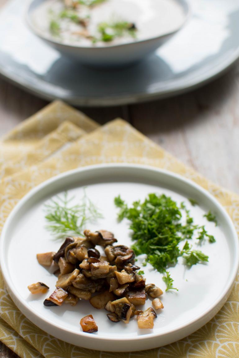 grzyby leśna do zupy grzybowej